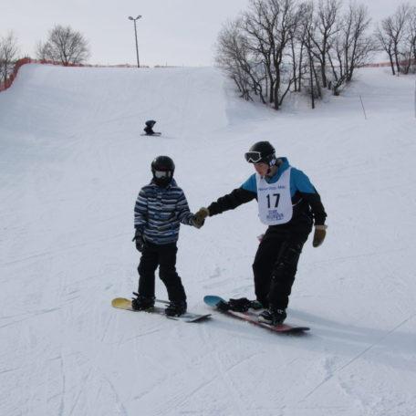 Holiday snowboard camp!