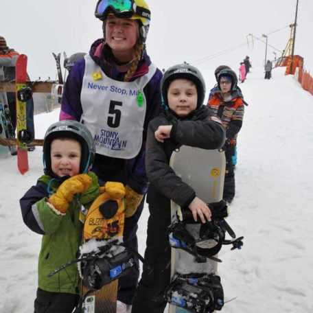 Book into Grommet Snowboard Camp